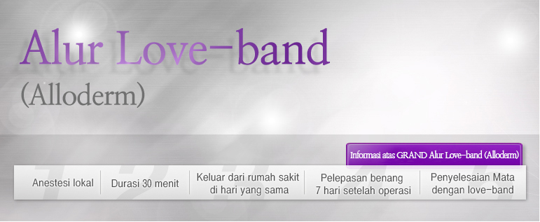 Alur Love-band (Alloderm)